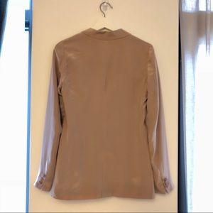 Madewell Jackets & Coats - Madewell Silk Blazer